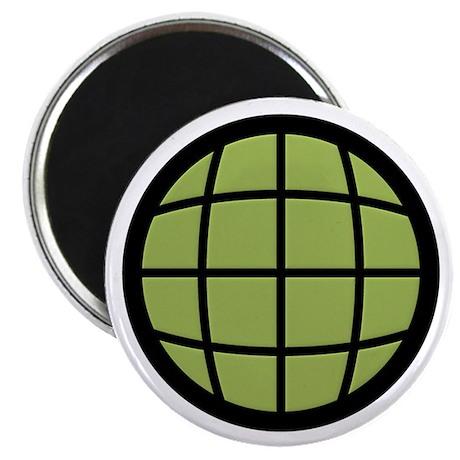 Captain Planet Globe Logo Magnet
