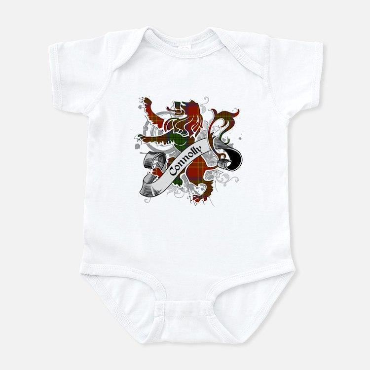 Connolly Tartan Lion Infant Bodysuit