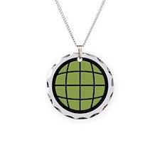 Captain Planet Globe Logo Necklace