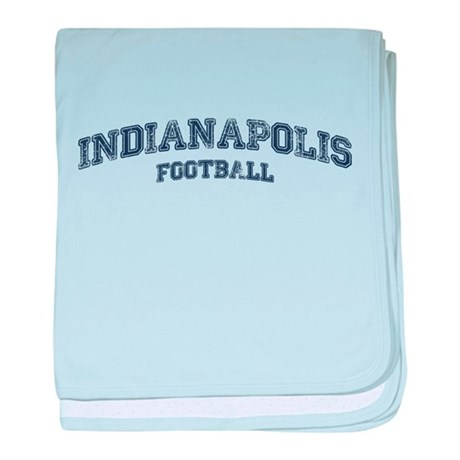 Indianapolis Football baby blanket