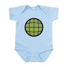 Captain Planet Globe Logo Infant Bodysuit