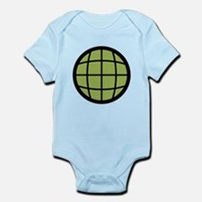 Captain Planet Globe Logo Infant Bodysuit