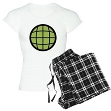 Captain Planet Globe Logo Pajamas
