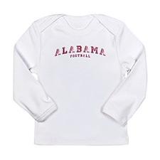 Alabama Football Long Sleeve Infant T-Shirt
