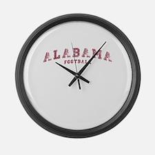 Alabama Football Large Wall Clock