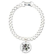 Cooper Tartan Lion Charm Bracelet, One Charm