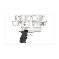 Gun Control 38.5 x 24.5 Wall Peel