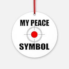 Gun Control Ornament (Round)