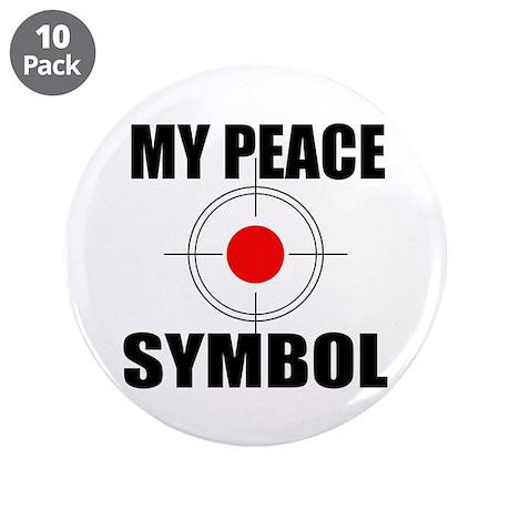 "Gun Control 3.5"" Button (10 pack)"