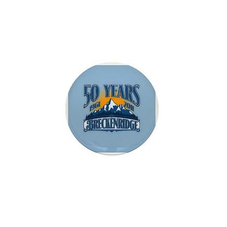 Breckenridge Blue Mountain Mini Button