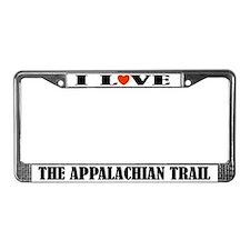 Appalachian Trail Hiking License Frame