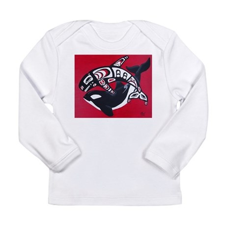Spirit of the Orca Long Sleeve Infant T-Shirt