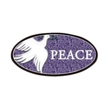 White Dove Of Peace Patches