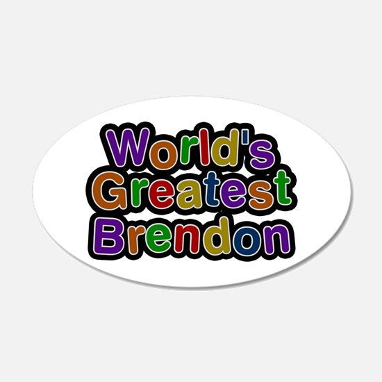 World's Greatest Brendon Wall Decal
