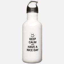 KEEP CALM AND HAND Water Bottle