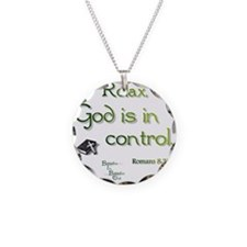 God is in Control Necklace
