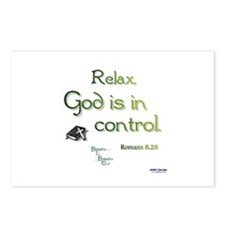 God is in Control Postcards (Package of 8)