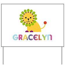 Gracelyn the Lion Yard Sign