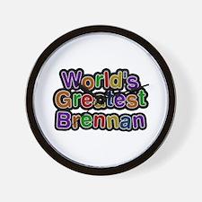 World's Greatest Brennan Wall Clock