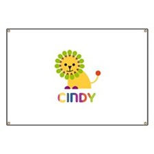 Cindy the Lion Banner