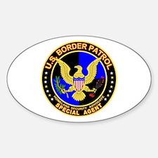 mx1 US Border Patrol SpAgent Oval Decal