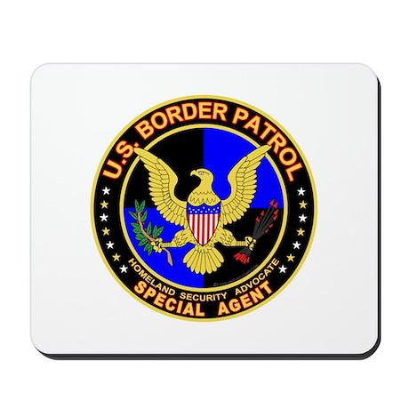mx1 US Border Patrol SpAgent Mousepad