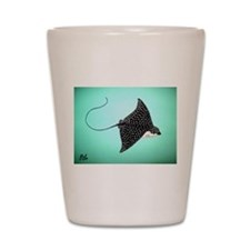 Spotted Eagle Ray Shot Glass