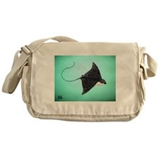 Spotted Eagle Ray Messenger Bag