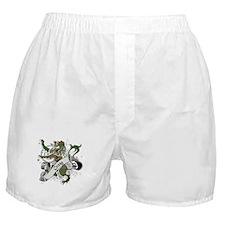 Craig Tartan Lion Boxer Shorts