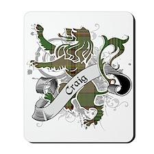 Craig Tartan Lion Mousepad