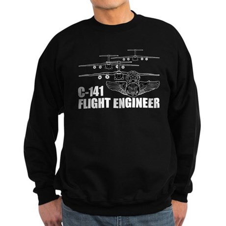 C-141 Flight Engineer Sweatshirt (dark)