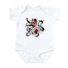 Cunningham Tartan Lion Infant Bodysuit