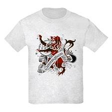 Cunningham Tartan Lion T-Shirt
