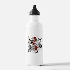 Cunningham Tartan Lion Water Bottle