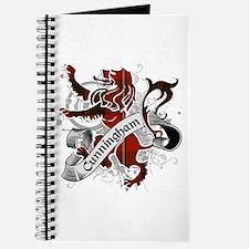 Cunningham Tartan Lion Journal