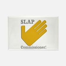 Slap Commissioner Rectangle Magnet