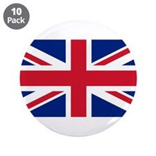 """United Kingdom 3.5"""" Button (10 pack)"""
