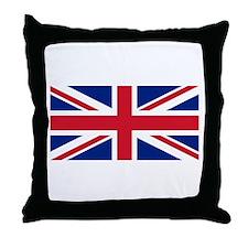 United Kingdom Throw Pillow