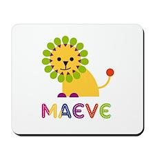 Maeve the Lion Mousepad
