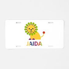 Jaida the Lion Aluminum License Plate