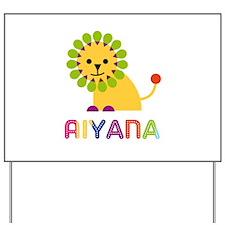 Aiyana the Lion Yard Sign