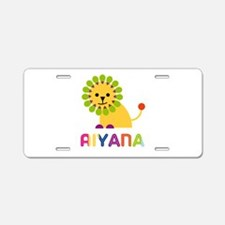 Aiyana the Lion Aluminum License Plate