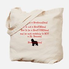 Cute Newfoundland Tote Bag