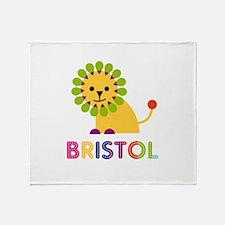 Bristol the Lion Throw Blanket