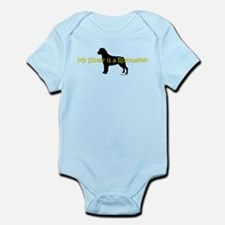 My Sister is a Rottweiler Infant Bodysuit