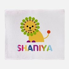 Shaniya the Lion Throw Blanket