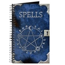 Spell Book Blue Journal