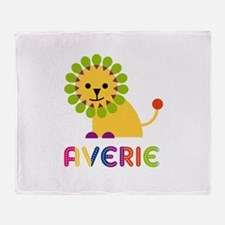 Averie the Lion Throw Blanket
