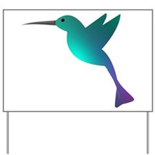 HummingBird Yard Sign