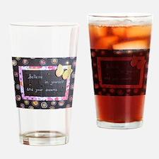 Cute Mixed media Drinking Glass